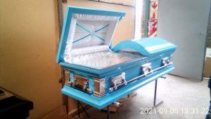 Steel Casket (Baby Blue)